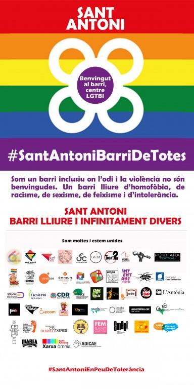 #SantAntoniBarriDeTotes #SantAntoniEnPeuDeTolerancia