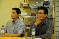 Jorge Varas y Luis de Alfonso