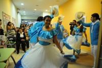 Actuación del grupo folklórico